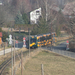 Austria, Schneeberg, a Salamanderbahn éppen elhagyja Puchberget,