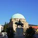 Pécs a Széchenyi tér reggeli napsütésben