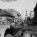 1905 - Pohľad na Vajanského ulicu z kamenného mosta