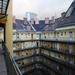 Pesti bérház tetején