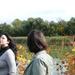 Lányok a Tatai tó partján